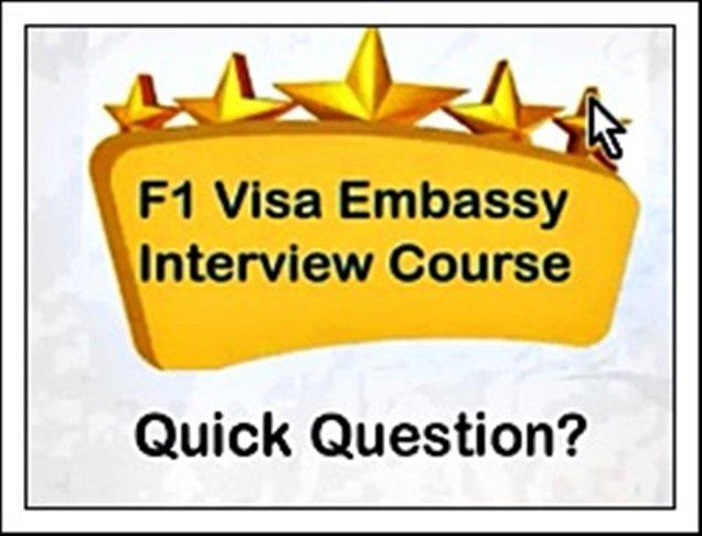 Important F1 Visa Interview Lessons Premium