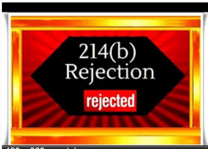 214b rejection