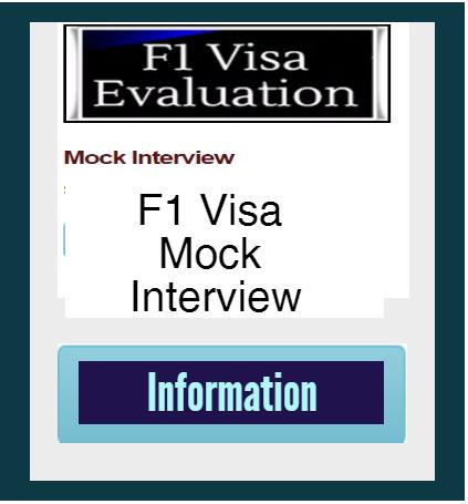 F1 Visa Mock Interview