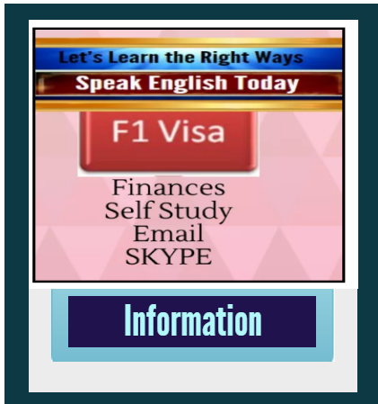 Complete F1 Visa Finances with Skype and Support.